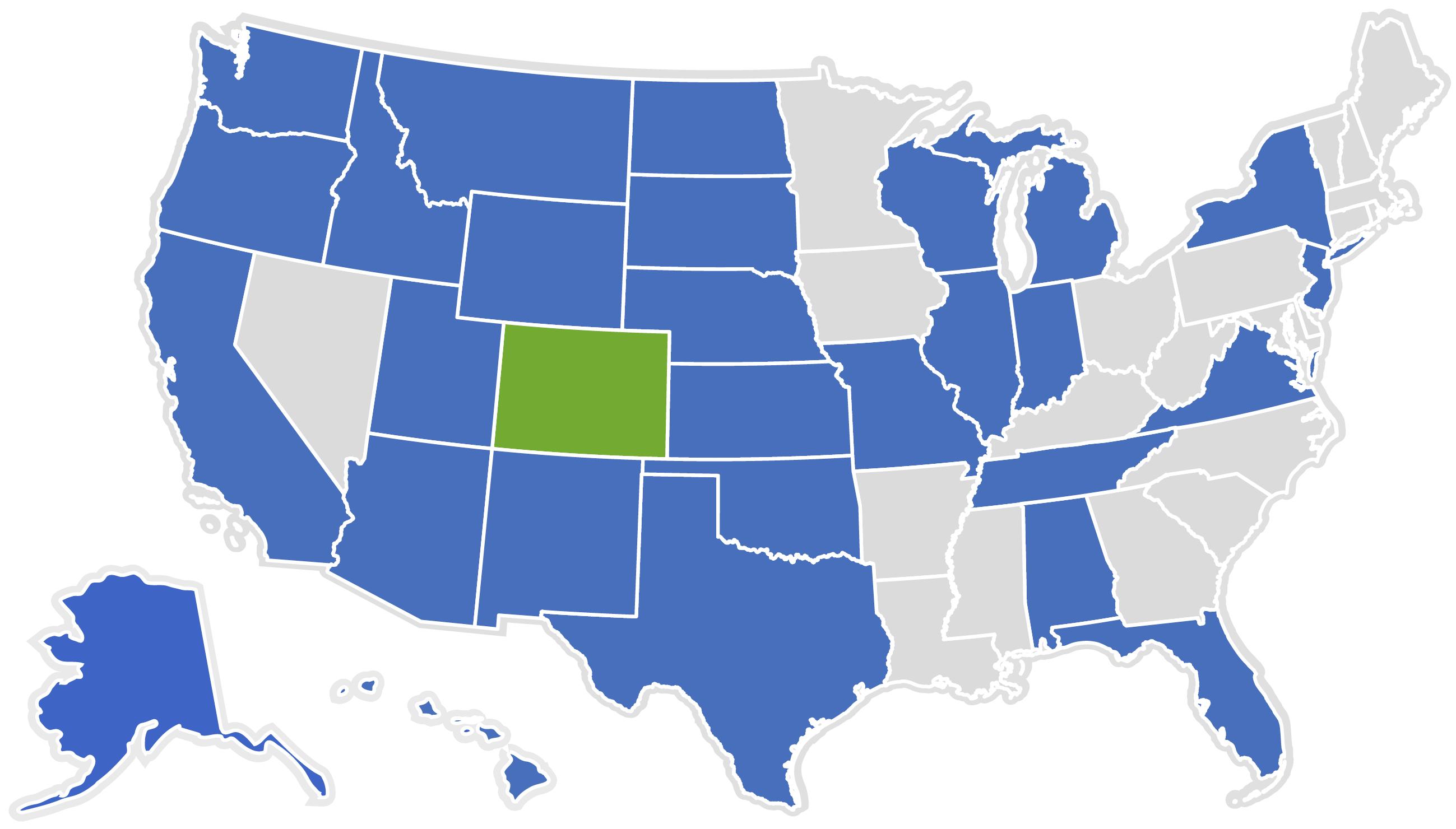 Utah To Colorado Round The Us Map Globalinterco - Utah us map