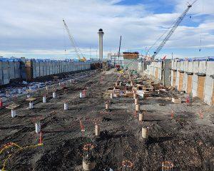 DEN Concourse C Construction